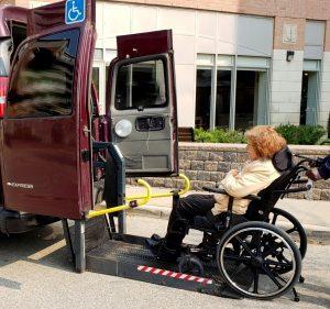 wheelchair taxi Markham